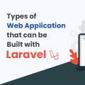 types of laravel web application