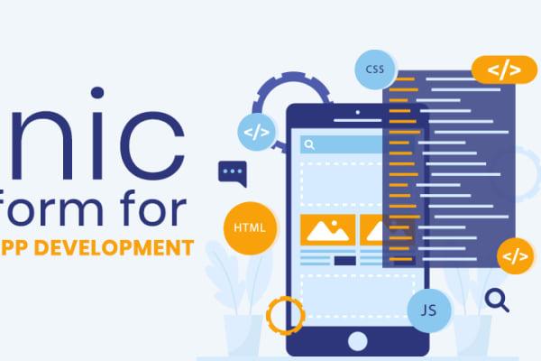 ionic for hybrid app development