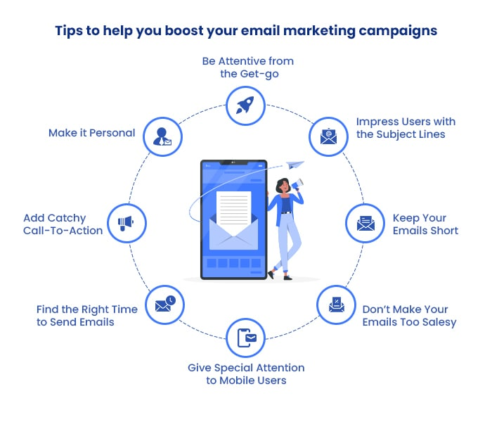 tips to boost email marketing campaigns