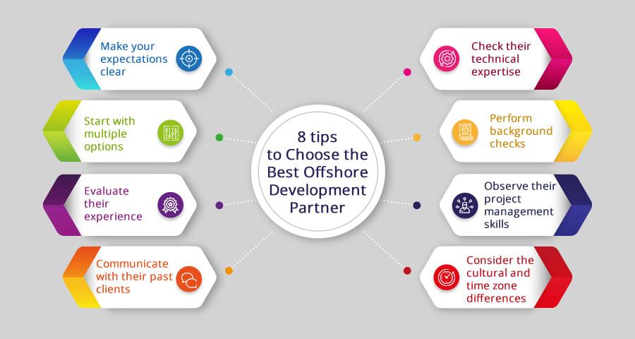 tips to choose the best offshore development partner