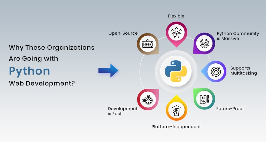 Why Organizations Are Going with Python Web Development?