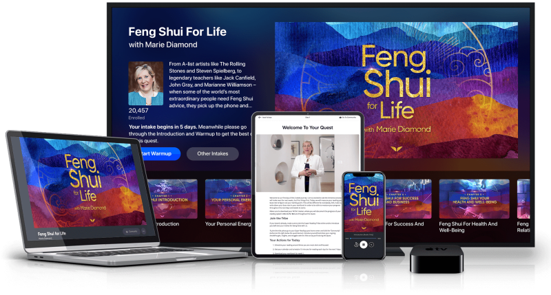 Feng Shui for Life on multiple devices