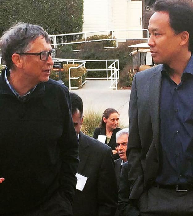 Jim Kwik with Bill Gates
