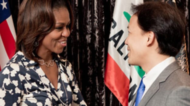 Jim Kwik with Michelle Obama