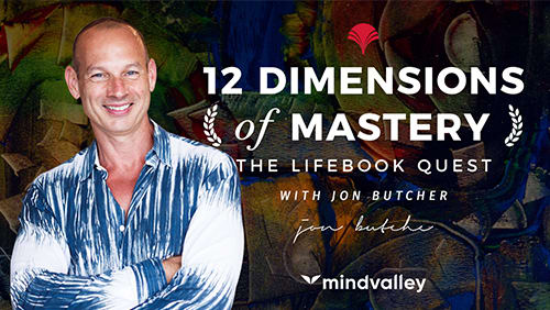 Jon Buther - 12 Dimensions Of Mastery, The Lifebook Quest