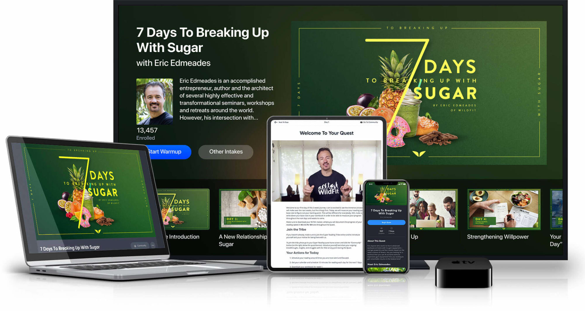 7 Days To Breaking Up With Sugar on various devices