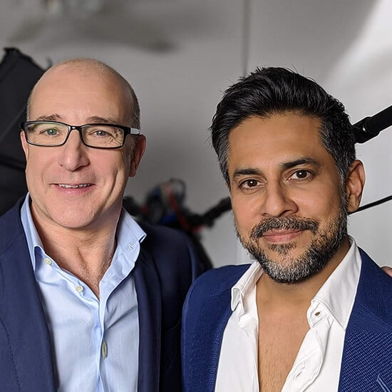 Paul McKenna and Vishen Lakhiani