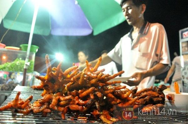 (Nguồn: kenh14.vn)  món chân gà nướng hấp dẫn