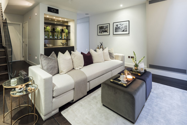 property styling and home staging Chelsea