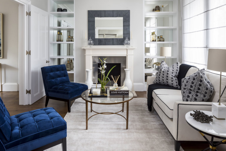 property styling and home staging Mayfair
