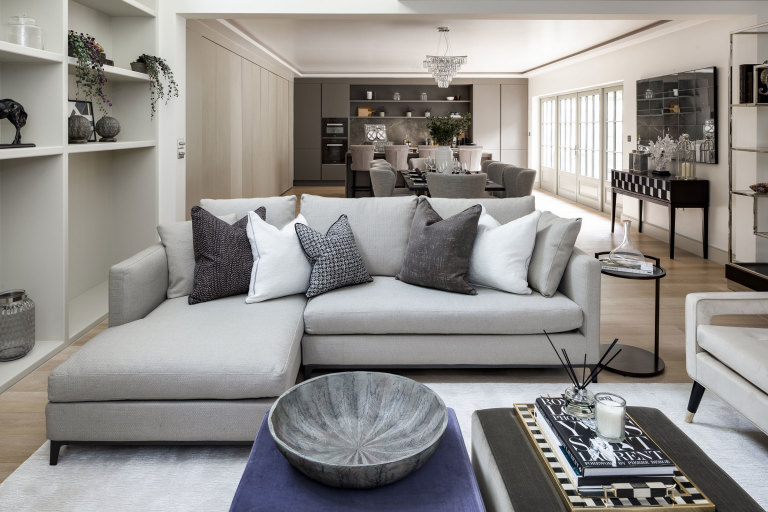 property styling and home staging Knightsbridge