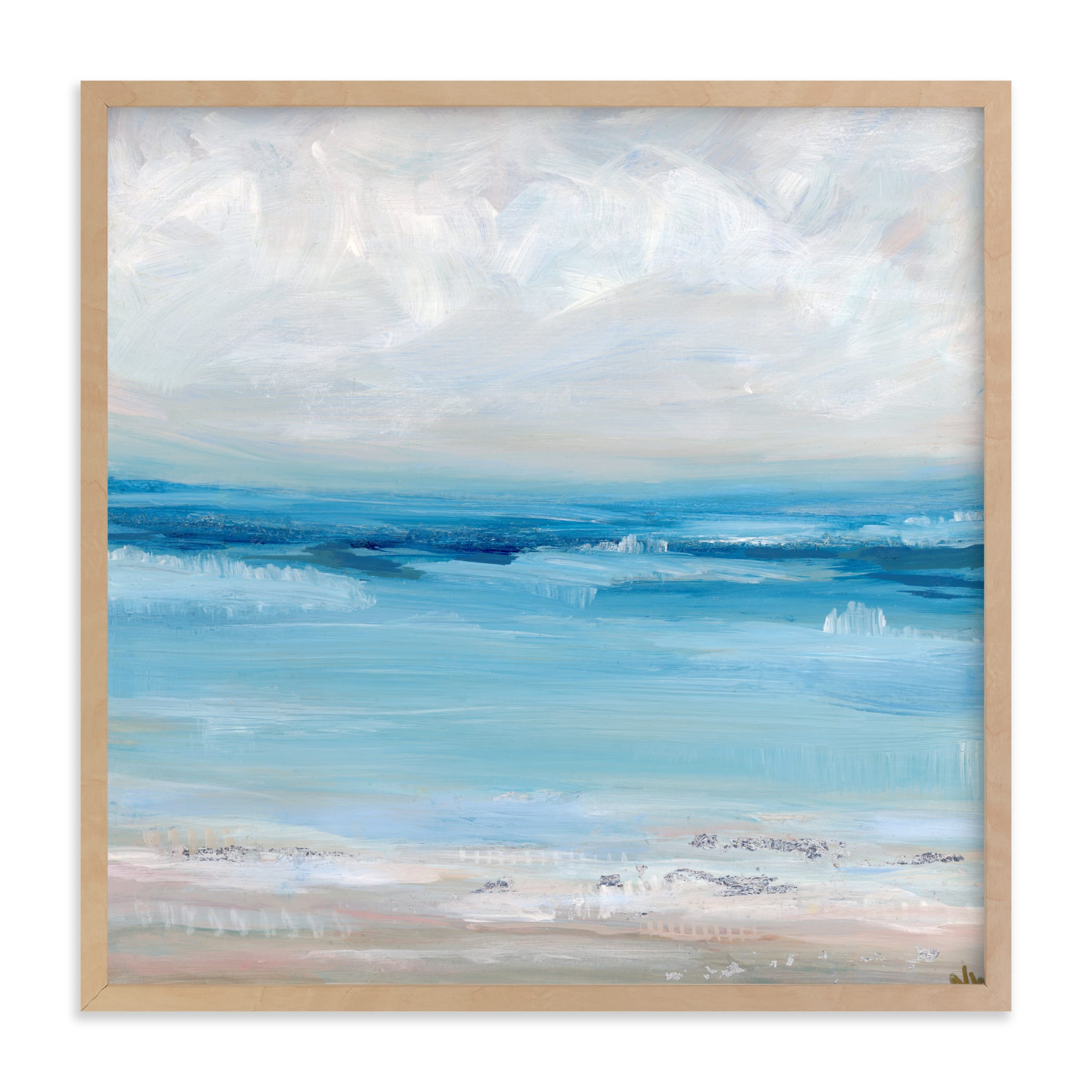 """""""Of the Sea"""" - Limited Edition Art Print by Nicole Walsh in beautiful frame options and a variety of sizes."""