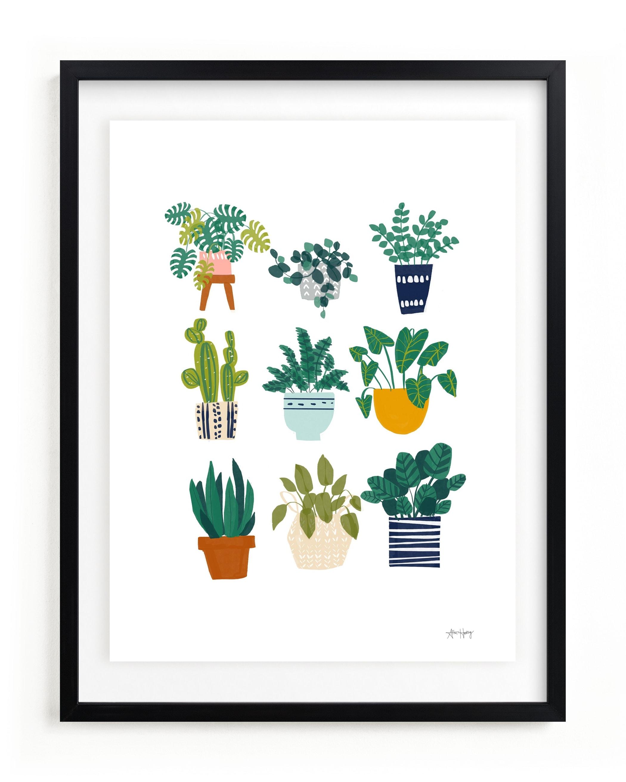 Planted Children's Art Print