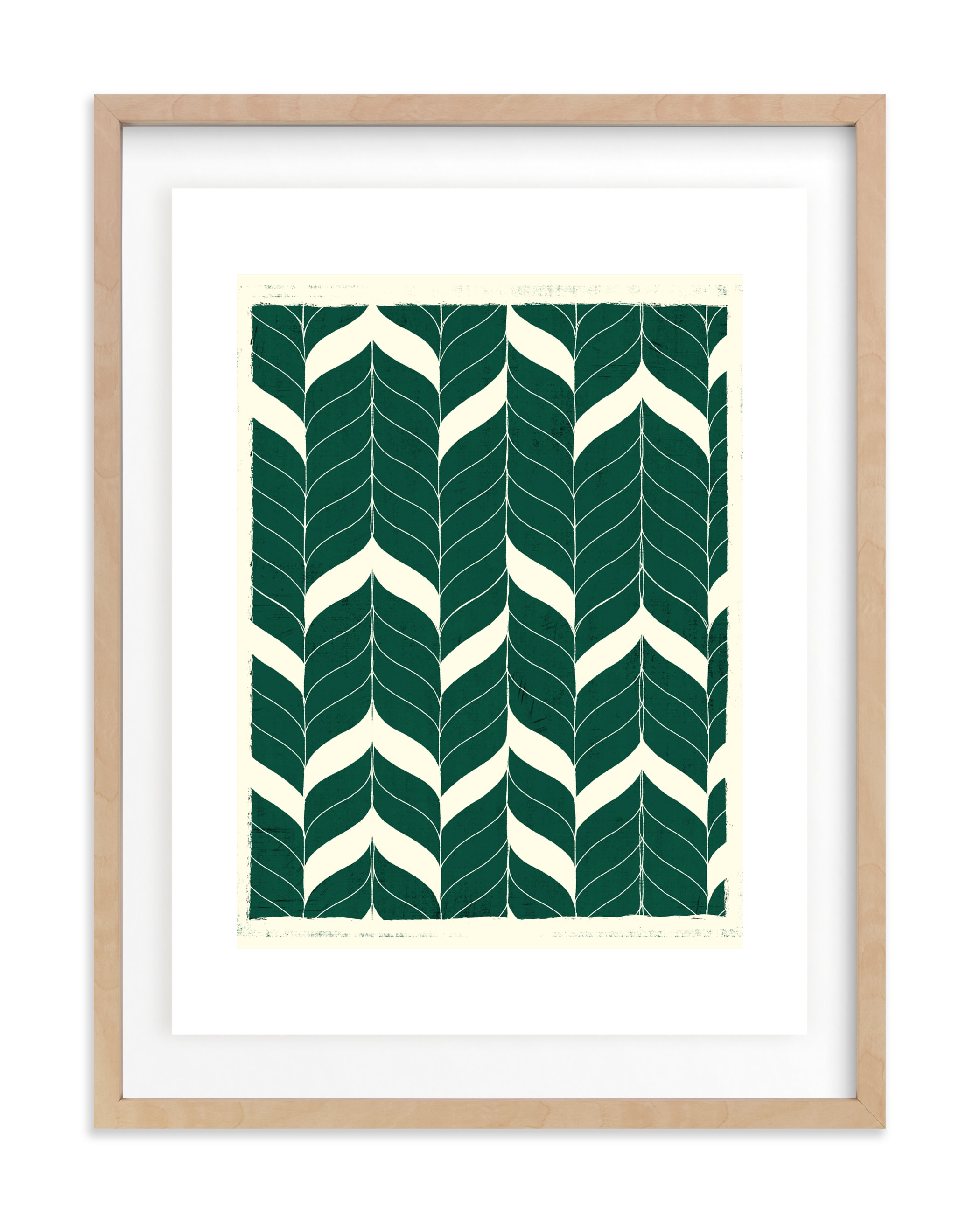 """""""Chevron Flow"""" - Limited Edition Art Print by Angel Walker in beautiful frame options and a variety of sizes."""