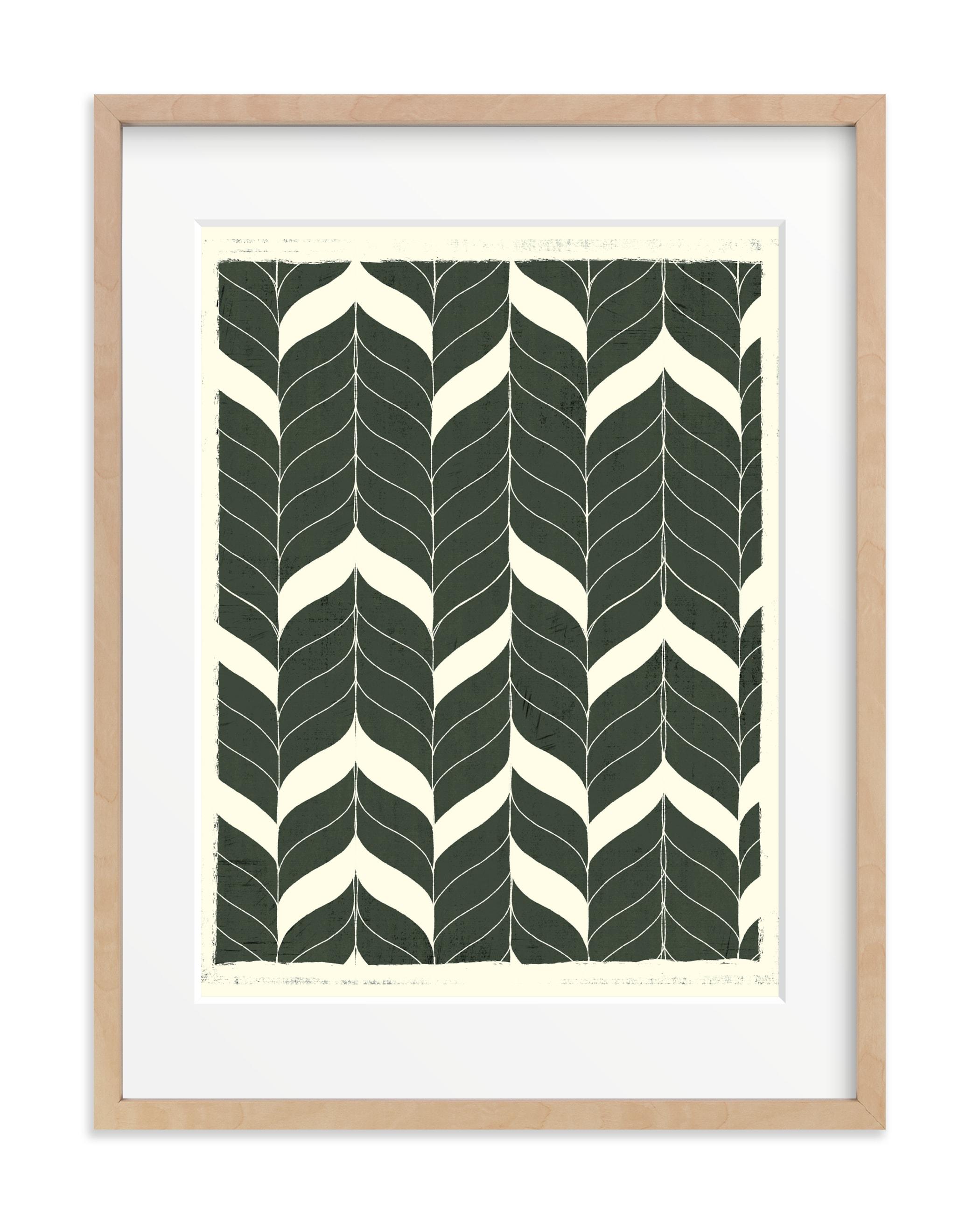 Chevron Flow Art Print