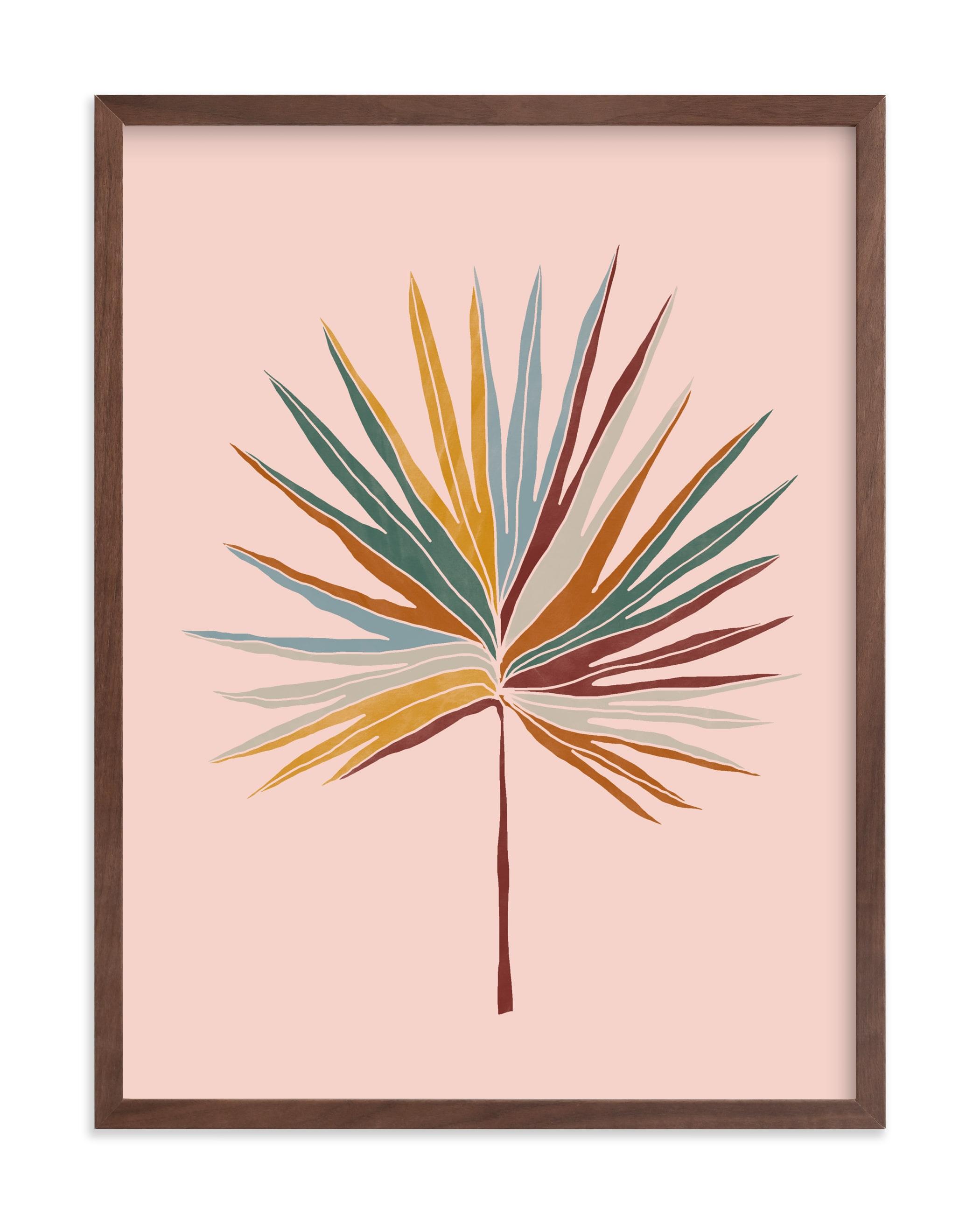 Chic Palm Art Print