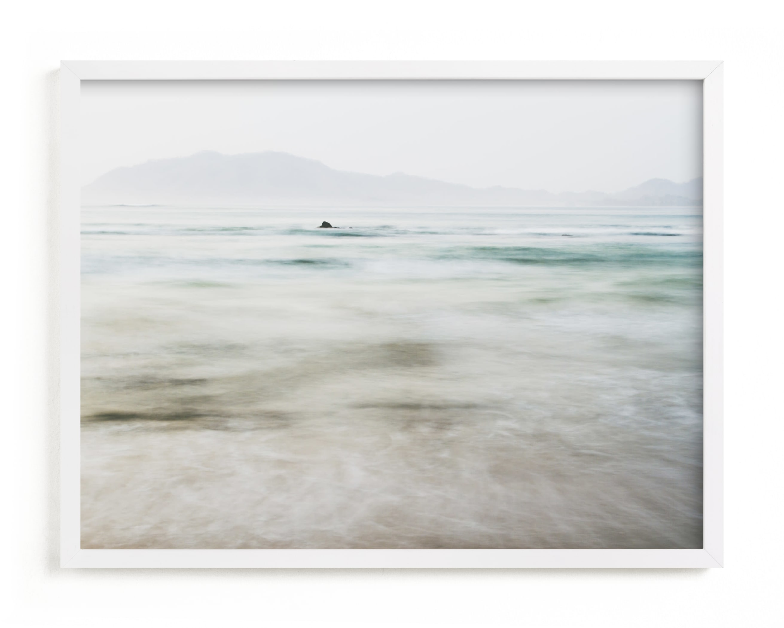This is a blue art by Kaitlin Rebesco called the pacific.