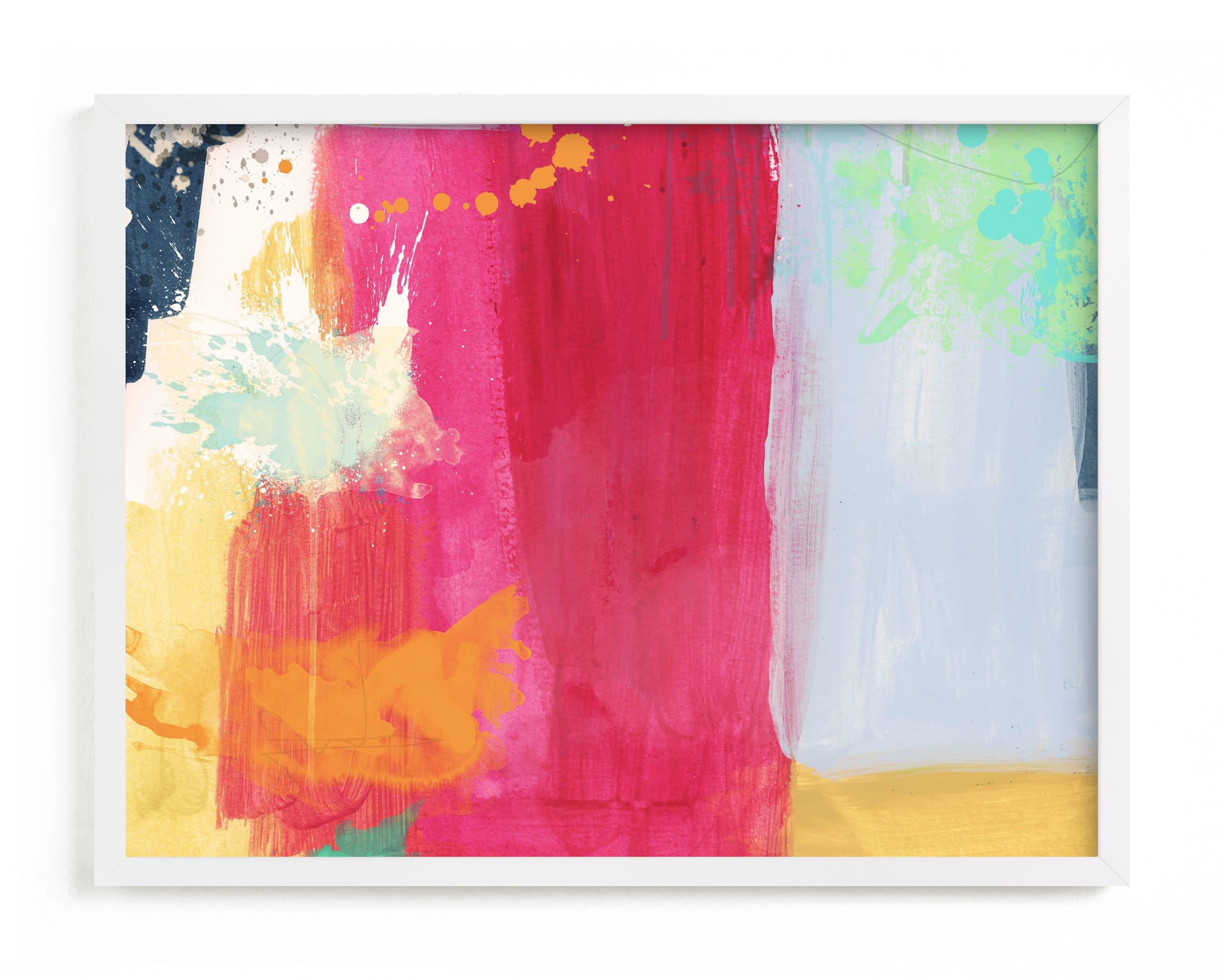 Colorful Expression I Children's Art Print