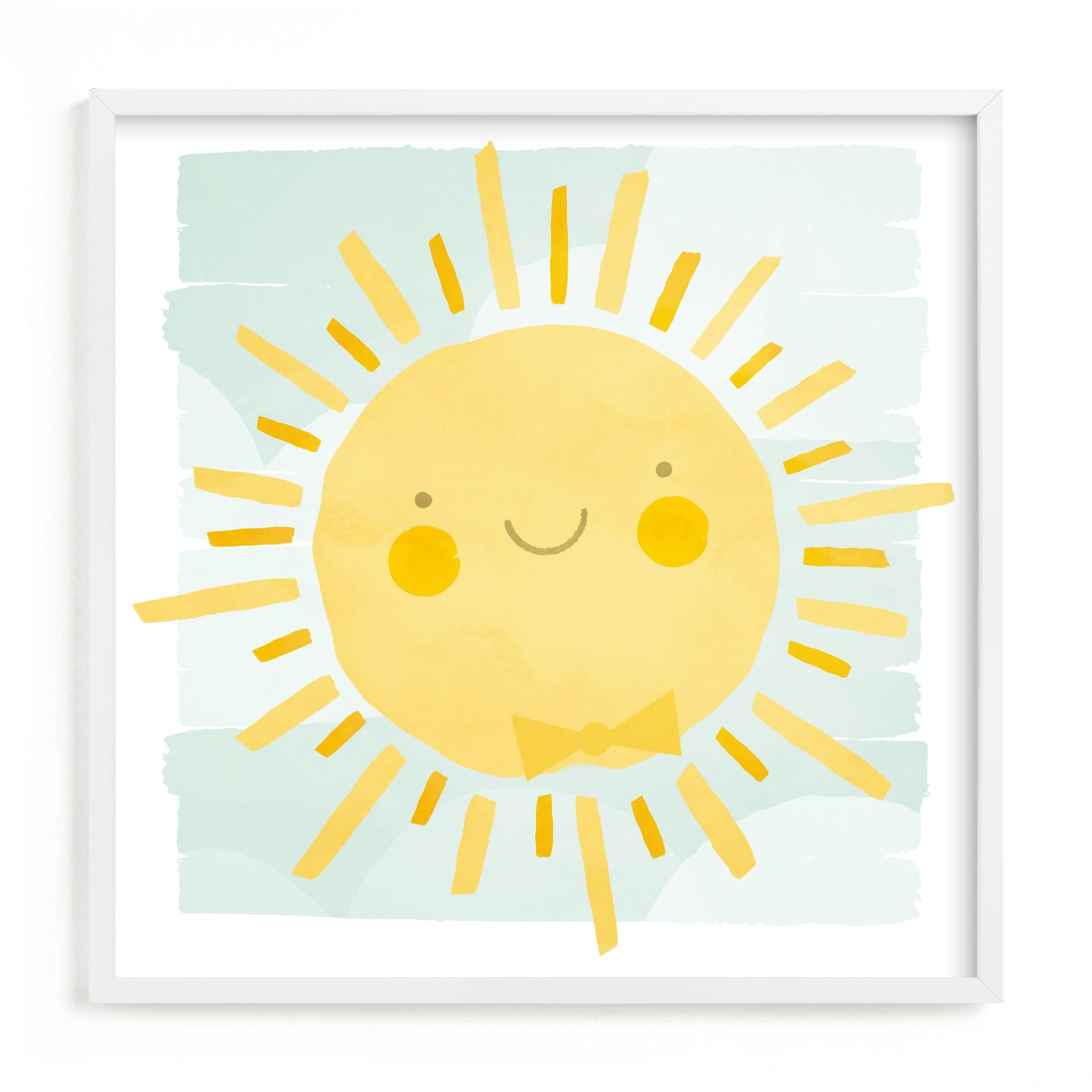 Sunny Children's Art Print
