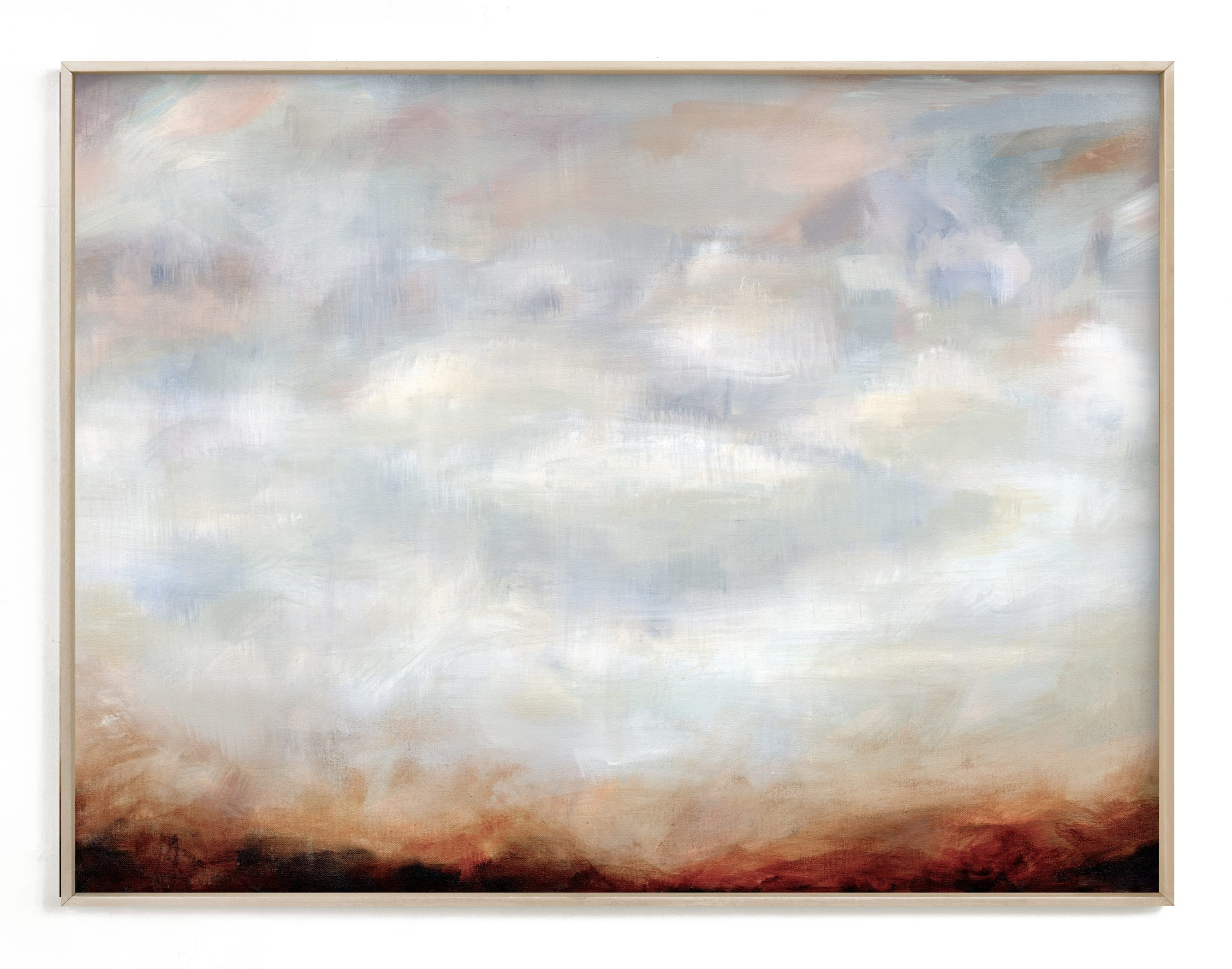 """""""Sienna Haze"""" - Limited Edition Art Print by Nicole Walsh in beautiful frame options and a variety of sizes."""