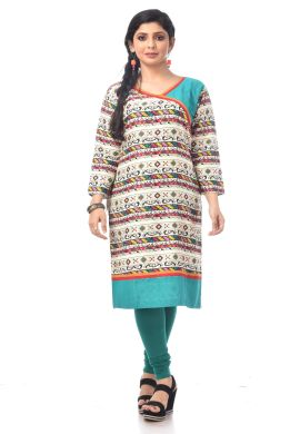 Minu Multi Cotton _In L & Xl Size Kurti