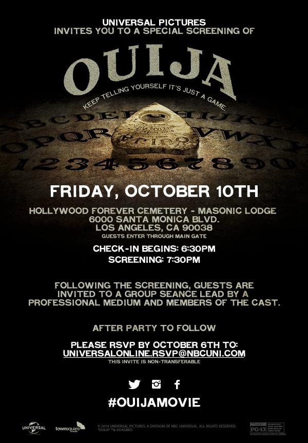 Ouija Invite