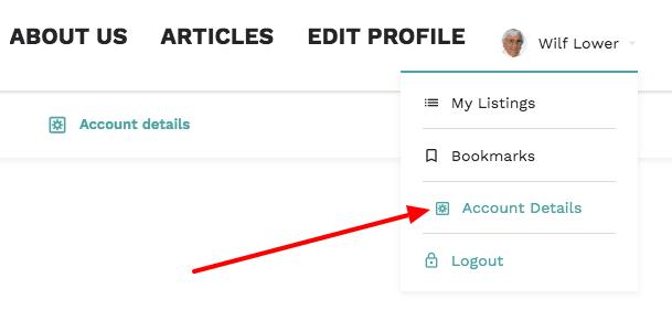 account details