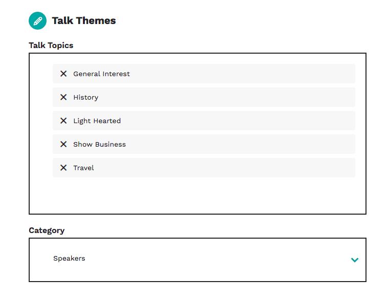 talk topics
