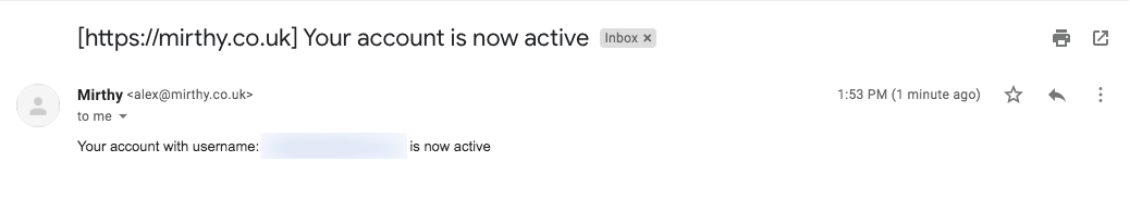 active email