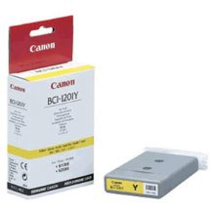 ראש דיו מילוי צהוב CANON BCI-1201Y