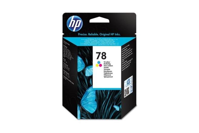 ראש דיו מקורי צבעוני HP C6578D
