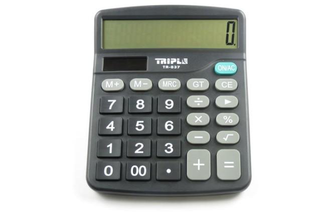 מחשבון שולחני TR837-12