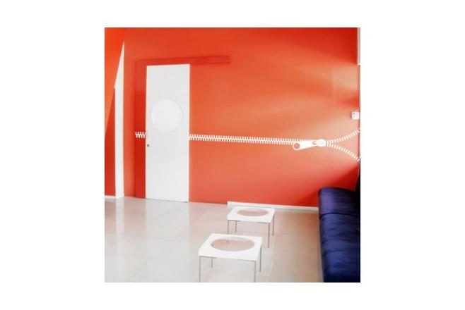 מדבקת קיר - Rich rach