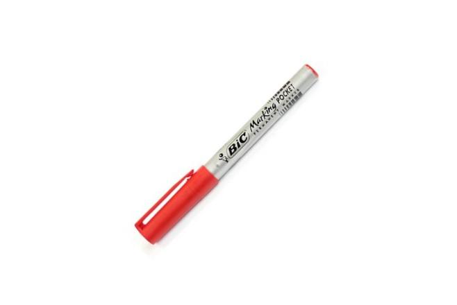 טוש פרמננטי BIC Marking pocet - אדום