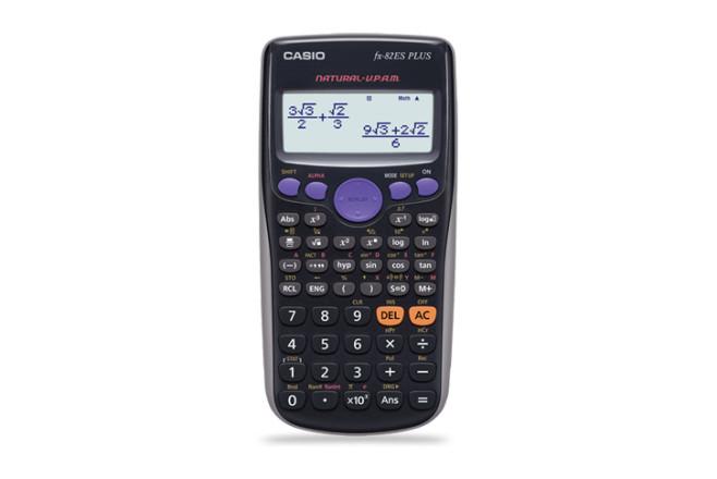 מחשבון מדעי דגם CASIO fx-82ES PLUS