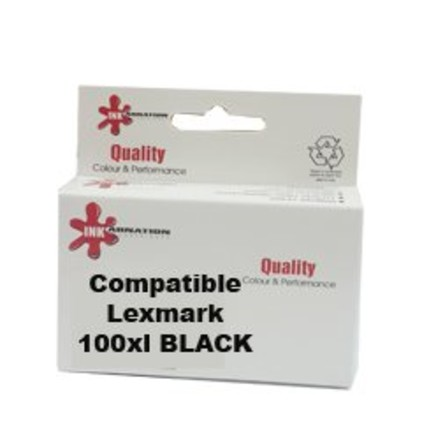 ראש דיו שחור 100XL תואםLexmark 14N1068E