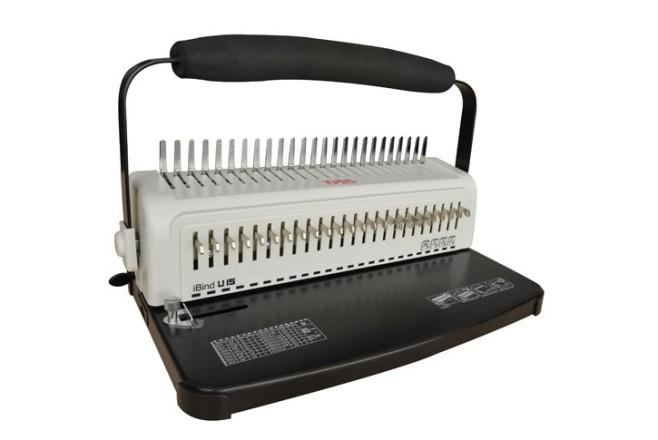 מכשיר כריכה ספירלים פלסטיק  U15