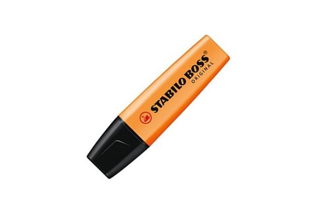 עט הדגשה מלבני סטבילו -STABILO BOSS