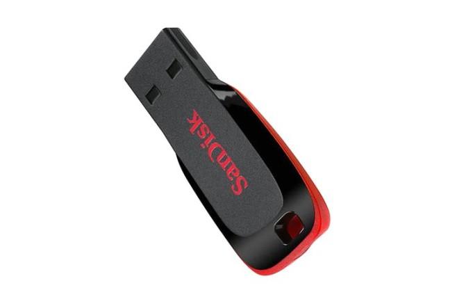 זכרון USB נייד SanDisk Cruzer Blade 128GB