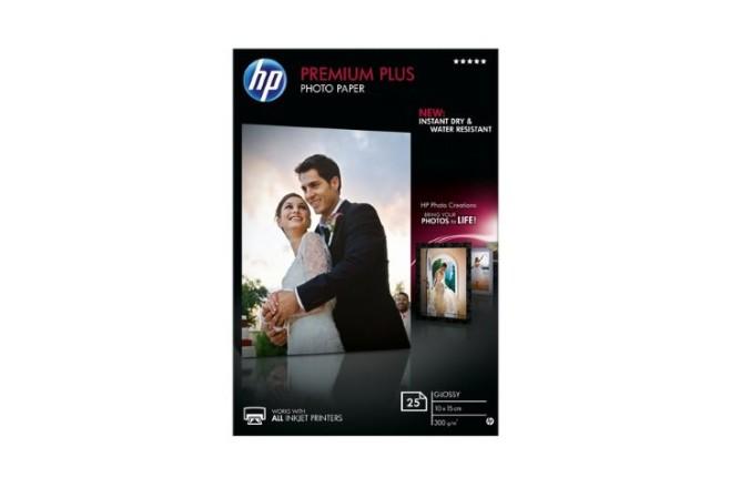 נייר צילום מבריק  A6 HP Premium Plus- CR677A