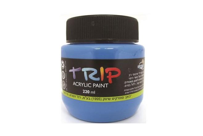 צבעי אקריליק טריפ 220ml