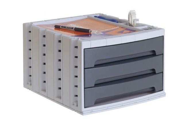 ארגז 3 מגירות ArchivoTec Serie 6003