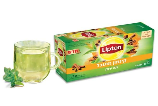 תה ירוק קינמון מתובל - ליפטון