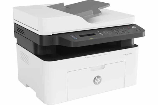 מדפסת משולבת HP Laser MFP 137fnw 4ZB84A