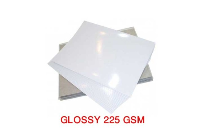 נייר פוטו גלוסי מבריק 225 גרם A4