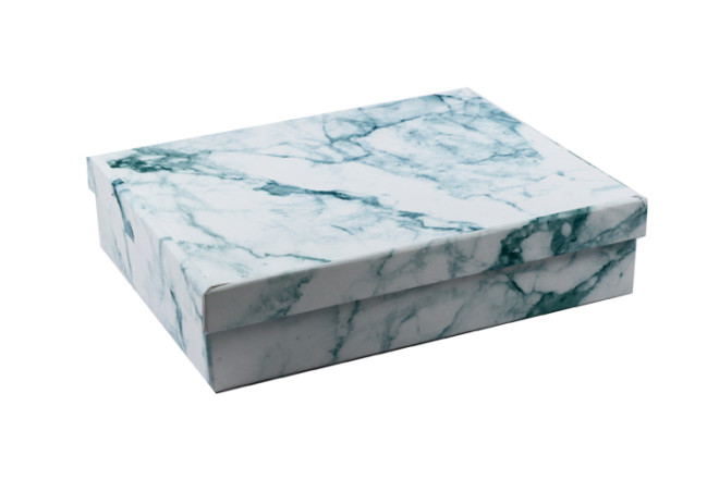 קופסת מתנה צבעי שיש