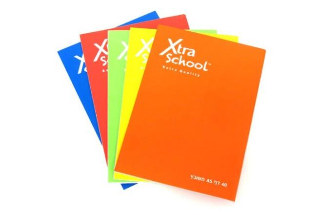 מחברות צבעוניות 40 דף