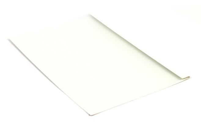 עטיפות לכריכה בחום 8 מ``מ - לבן לכ-80 דפים  100 יח באריזה