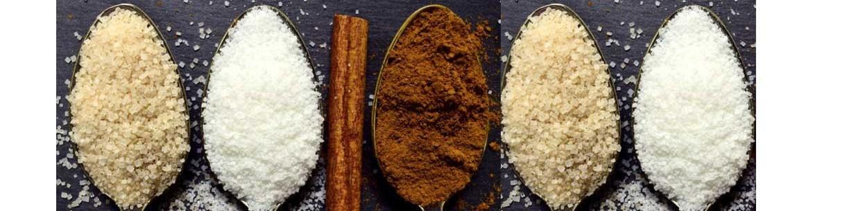 סוכר מלח  וממתיקים