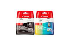 זוג ראשי דיו קנון מקוריים שחור וצבע   CANON CL-541XL+PG540XL